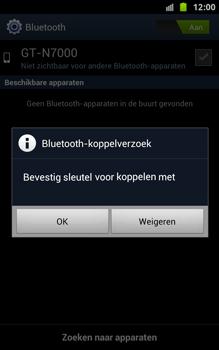 Samsung N7000 Galaxy Note met OS 4 ICS - Bluetooth - Headset, carkit verbinding - Stap 8