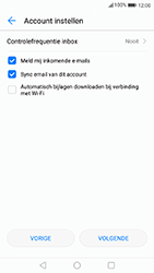 Huawei P8 Lite (2017) - E-mail - Handmatig instellen - Stap 8