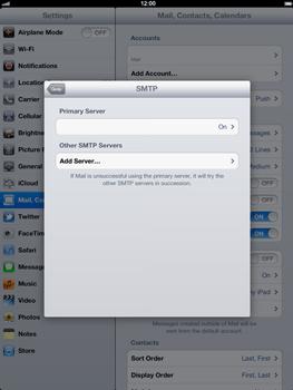 Apple The New iPad - E-mail - Manual configuration - Step 16