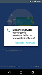 Sony Xperia XZ Premium - E-mail - handmatig instellen (outlook) - Stap 10