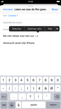 Apple iPhone 6 Plus - iOS 12 - E-mail - Bericht met attachment versturen - Stap 9
