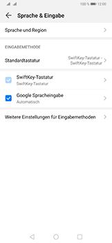 Huawei P30 Pro - Startanleitung - So fügen Sie eine Tastatursprache hinzu - Schritt 5