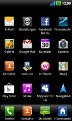 LG Optimus Black - Apps - Konto anlegen und einrichten - 3 / 19