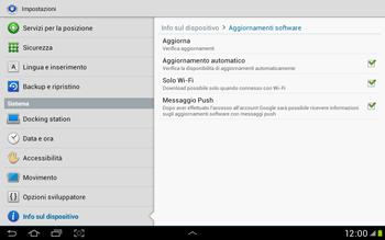 Samsung Galaxy Tab 2 10.1 - Software - Installazione degli aggiornamenti software - Fase 9