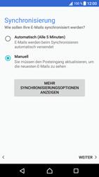 Sony Xperia XA1 - E-Mail - Konto einrichten - Schritt 20