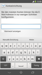 Sony Xperia M2 - E-Mail - Konto einrichten - 2 / 2