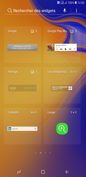 Samsung Galaxy J4+ - Applications - Personnaliser l