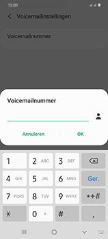 Samsung Galaxy S20 5G Dual-SIM eSIM SM-G981B - Voicemail - Handmatig instellen - Stap 10