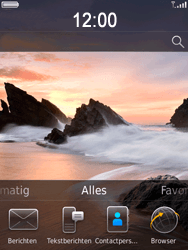 BlackBerry 9800 Torch - MMS - Automatisch instellen - Stap 1