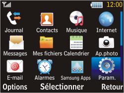 Samsung S3570 Chat 357 - MMS - configuration manuelle - Étape 4