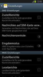 Samsung Galaxy S III - OS 4-1 JB - SMS - Manuelle Konfiguration - 1 / 1