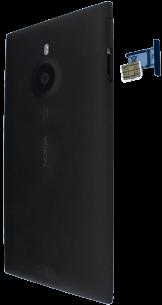 Nokia Lumia 1520 - SIM-Karte - Einlegen - 1 / 1