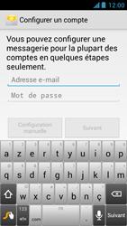 Acer Liquid Z5 - E-mail - Configuration manuelle - Étape 5