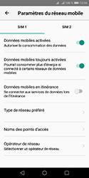 Huawei Y5 (2018) - Aller plus loin - Désactiver les données à l'étranger - Étape 7