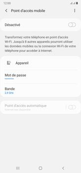 Samsung Galaxy Note20 Ultra 5G - Internet et connexion - Partager votre connexion en Wi-Fi - Étape 7