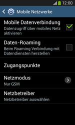 Samsung G3500 Galaxy Core Plus - Netzwerk - Netzwerkeinstellungen ändern - Schritt 8