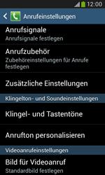 Samsung Galaxy Trend Plus - Anrufe - Rufumleitungen setzen und löschen - 6 / 12