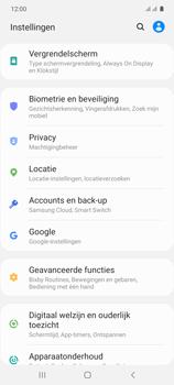 Samsung galaxy-s10-lite-dual-sim-sm-g770f - Instellingen aanpassen - Back-up maken in je account - Stap 4