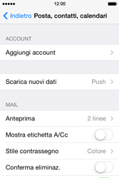 Apple iPhone 4S iOS 7 - E-mail - 032c. Email wizard - Outlook - Fase 5