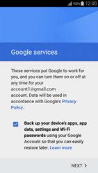 Samsung A300FU Galaxy A3 - E-mail - Manual configuration (gmail) - Step 14