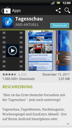 Sony Ericsson Xperia X10 - Apps - Herunterladen - Schritt 7