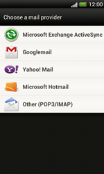 HTC T320e One V - Email - Manual configuration POP3 with SMTP verification - Step 5