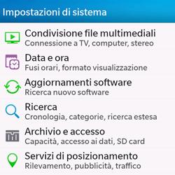 BlackBerry Q10 - Software - Installazione degli aggiornamenti software - Fase 4