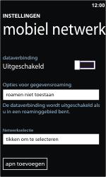 Samsung I8350 Omnia W - netwerk en bereik - gebruik in binnen- en buitenland - stap 8