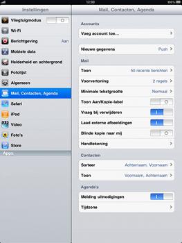Apple iPad - E-mail - Handmatig instellen - Stap 3