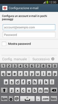 Samsung Galaxy Note III LTE - E-mail - configurazione manuale - Fase 5