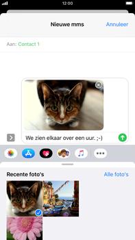 Apple iPhone 8 Plus - iOS 13 - MMS - afbeeldingen verzenden - Stap 14
