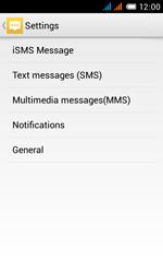 Alcatel OT-4033X Pop C3 - SMS - Manual configuration - Step 6