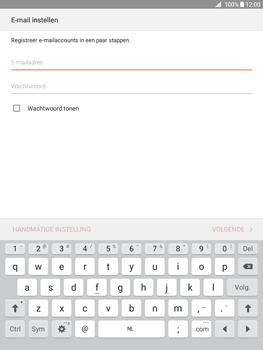 Samsung Galaxy Tab A 9.7 - E-mail - Handmatig instellen - Stap 5