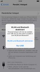 Apple iPhone 8 - Internet - Mobilen WLAN-Hotspot einrichten - 8 / 9
