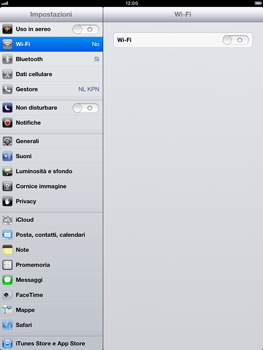 Apple iPad mini - Internet e roaming dati - Configurazione manuale - Fase 3