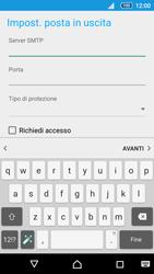 Sony Xperia Z5 - E-mail - configurazione manuale - Fase 18