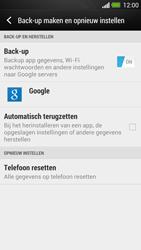 HTC One - Resetten - Fabrieksinstellingen terugzetten - Stap 5
