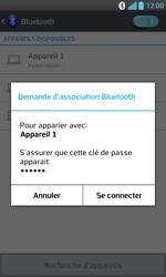 LG E975 Optimus G - Bluetooth - connexion Bluetooth - Étape 10
