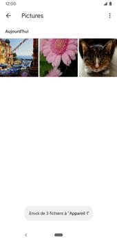 Google Pixel 3a - Photos, vidéos, musique - Envoyer une photo via Bluetooth - Étape 13