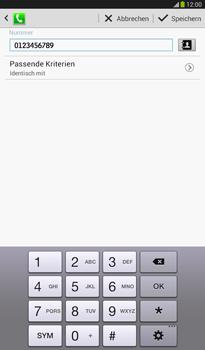 Samsung T211 Galaxy Tab 3 7-0 - Anrufe - Anrufe blockieren - Schritt 13