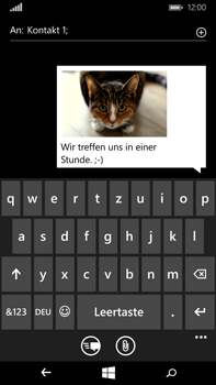 Microsoft Lumia 640 XL - MMS - Erstellen und senden - Schritt 15
