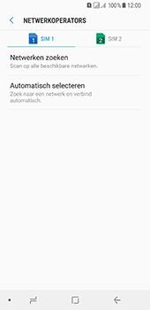 Samsung Galaxy A8 (2018) - Netwerk - Handmatig een netwerk selecteren - Stap 8