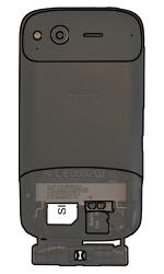 HTC S510e Desire S - SIM-Karte - Einlegen - Schritt 5