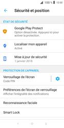 Alcatel 1X - Sécuriser votre mobile - Activer le code de verrouillage - Étape 12