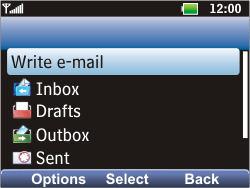 LG C360 Golf - Email - Manual configuration POP3 with SMTP verification - Step 10