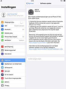 Apple iPad Pro 10.5 inch - iOS 11 - Software updaten - Update installeren - Stap 5