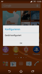 Sony Xperia Z3 Compact - MMS - Automatische Konfiguration - 0 / 0