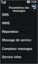 LG GD510 Pop - Messagerie vocale - Configuration manuelle - Étape 4