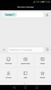 Huawei Mate S - MMS - envoi d'images - Étape 8