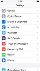 Apple iPhone SE - iOS 13 - Mobile phone - Resetting to factory settings - Step 3